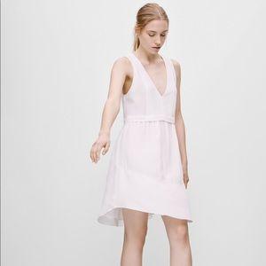 Aritzia Light Pink Vignette Dress